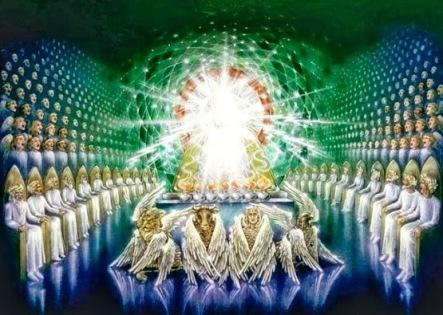 gloria al Señor conselho-anciaos-galaxia