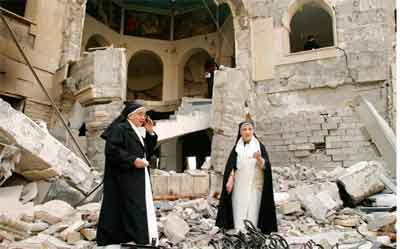 CRISTIANOS -PÉRSECUCION-mosul