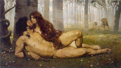 00adan y eva el_primer_beso_salvador_viniegra_y_lasso_de_la_vega_1891