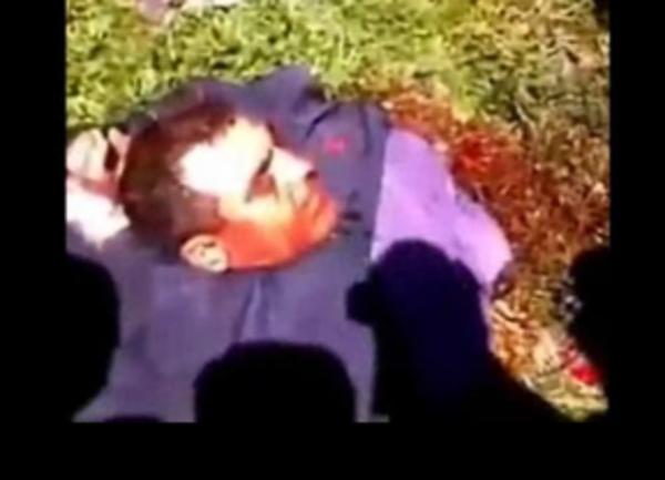 sacerdote sirio decapitado