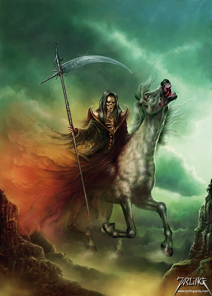 peste death_rider_by_jarling_art