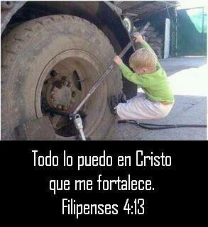 NIÑO Todo lo puedo en Cristo que me fortalece