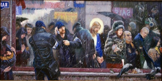 INDIFERENCIA MUNDO FE Y JESUS -vladimir-kireyev-the-mirror-when-the-son-of-man-cometh-will-he-find-faith-on-the-earth-20091