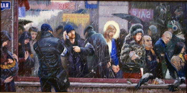FE Y JESUS -vladimir-kireyev-the-mirror-when-the-son-of-man-cometh-will-he-find-faith-on-the-earth-20091