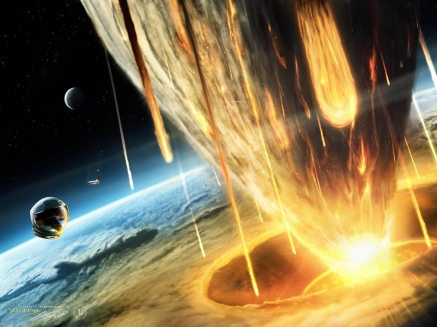 bolas de fuego del espacio cometas-caindo-na-terra-wallpaper-11725