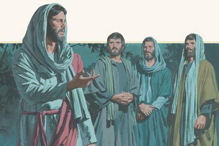 jesus con los apóstoles