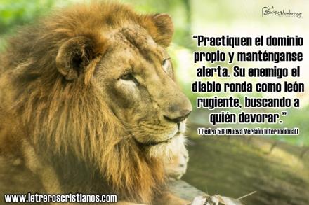 leon rugiente