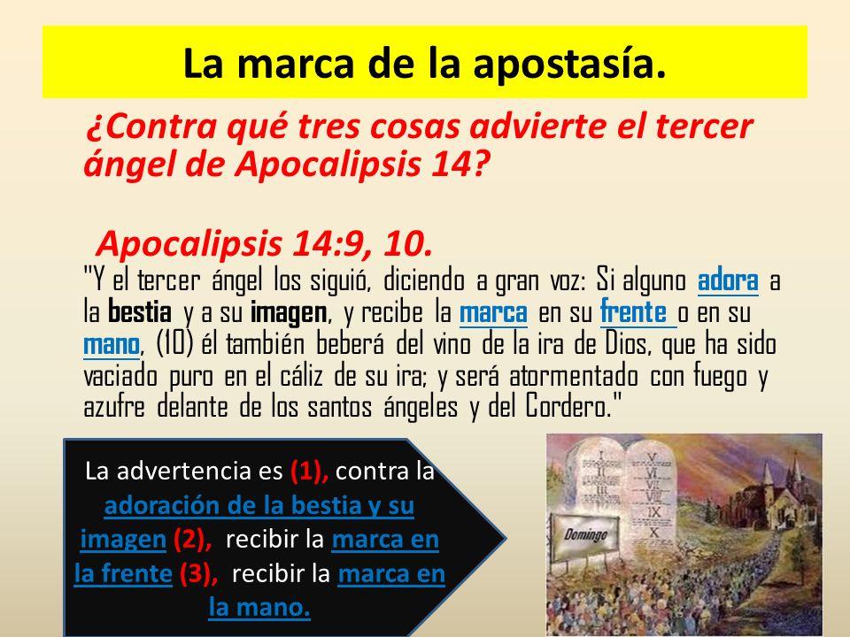 la marca apocalipsis 14 9-10