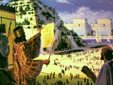 ESCLAVIZADOS EN BABILONIA POR NABUCODONOSOR