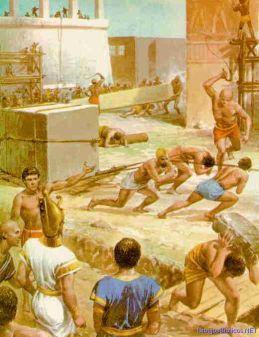 esclavos en egipto