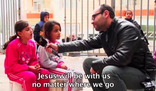 niñas cristianas de irak