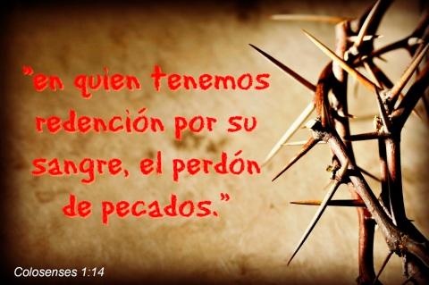 sangre de cristo perdón yproteccion