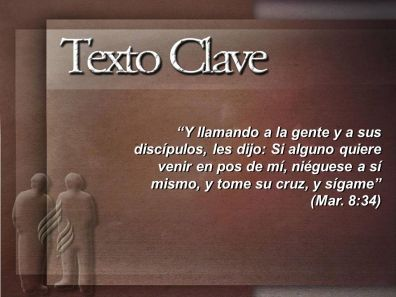 TEXTO CLAVE CRUZ