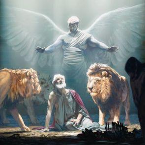 daniel protegido por su ángel (1)