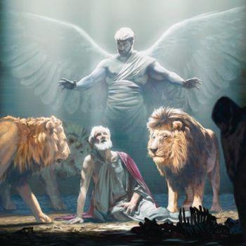 daniel protegido por su ángel