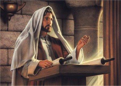 PREDICANDO JESÚS-en-la-Sinagoga