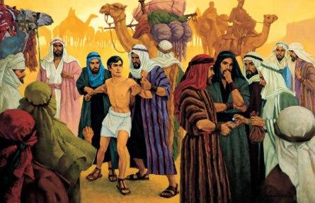 JOSÉ ES VENDIDO POR SUS HERMANOS