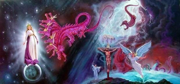 reina apocalipsis-mujer-lucha-con-dragon-esta-jesucristo1