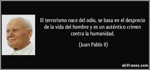 odio y terrorismo
