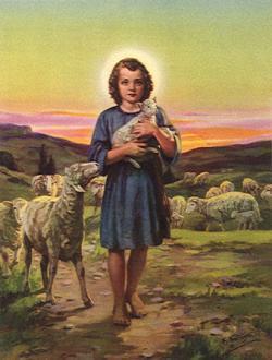 JESÚS TAMBIÉN CAMINÓ EN FE Y CUANDO NIÑO,TUVO NECESIDAD DE QUE SU MADRE EDUCADA EN EL TEMPLO LO INSTRUYERA