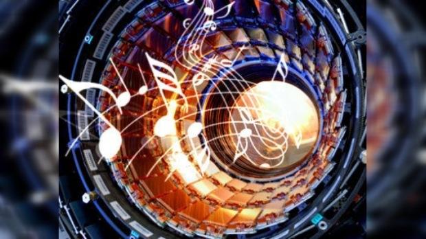 gran colisionador de hadrones musica de triunfo