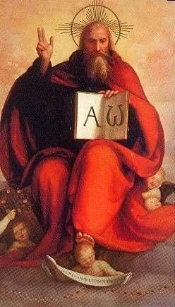Padre Dios Alfa y Omega