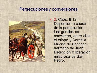 persecucion y conversion