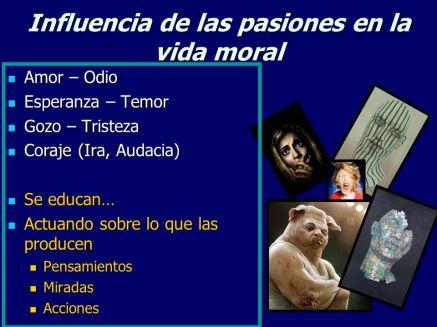 pasiones y moral