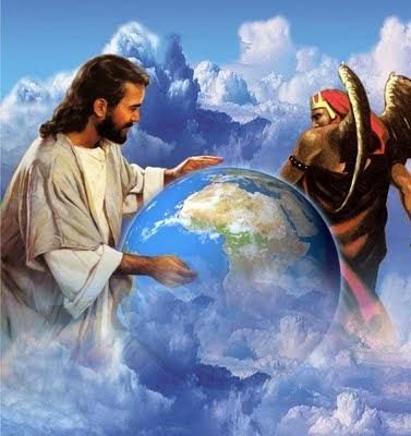 TIERRA JESUS SATAN