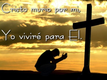 CRUZ Cristo murio por mi