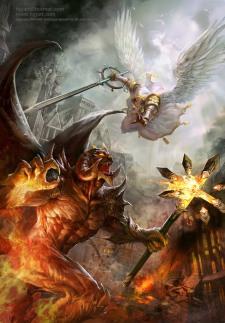00guerra espiritual DemonVsAngel