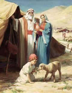 familia de abraham