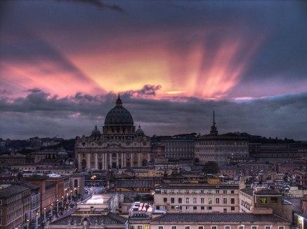 crepúsculo ROMA-VATICANO