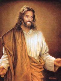 JESUS sonriente