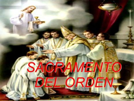 sacramento del orden