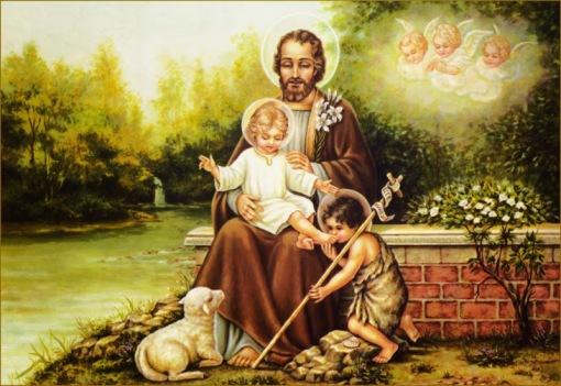 San Jose patriarca de la iglesia,