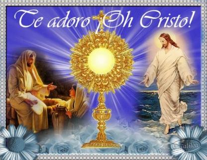 TeAdoro eucaristia