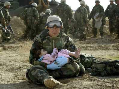SOLDADO compasion guerra irak
