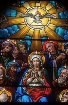 vitral pentecostes