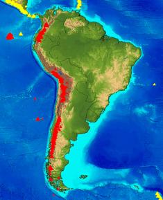 Volcanoes of South America