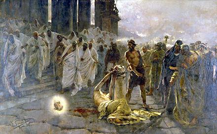 martirio-Decapitación_de_San_Pablo_-_Simonet_-_1887