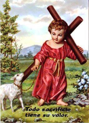 con la cruz