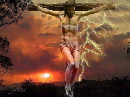 sangre y agua herida del corazón de jesus