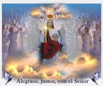 cristo rey alegraos