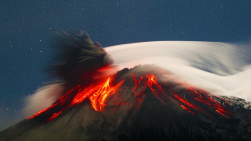 erupcion popo