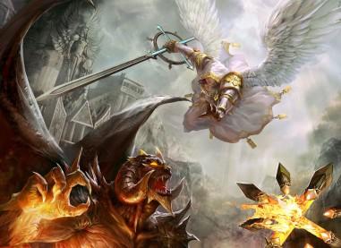 guerra espiritual angeles lucifer
