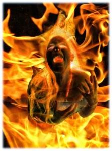 INFIERNO alma fuego purgatorio