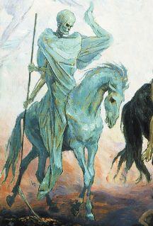 Jinetes-caballo-amarillo-peste -muerte-devastacion_
