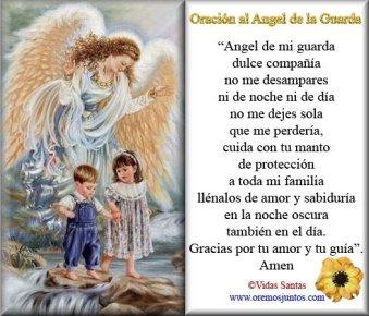 ORACION ANGEL DE LA GUARDA 2