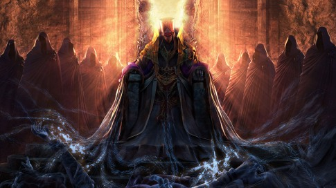 trono del infierno